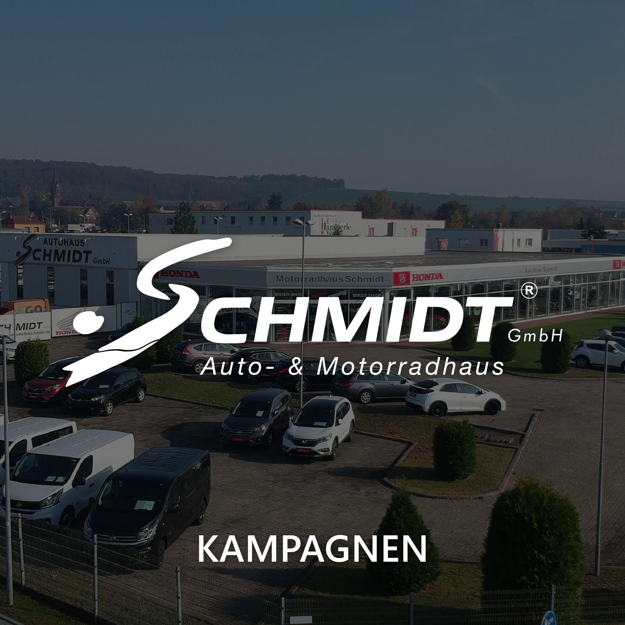 Autohaus Schmidt Kampagne