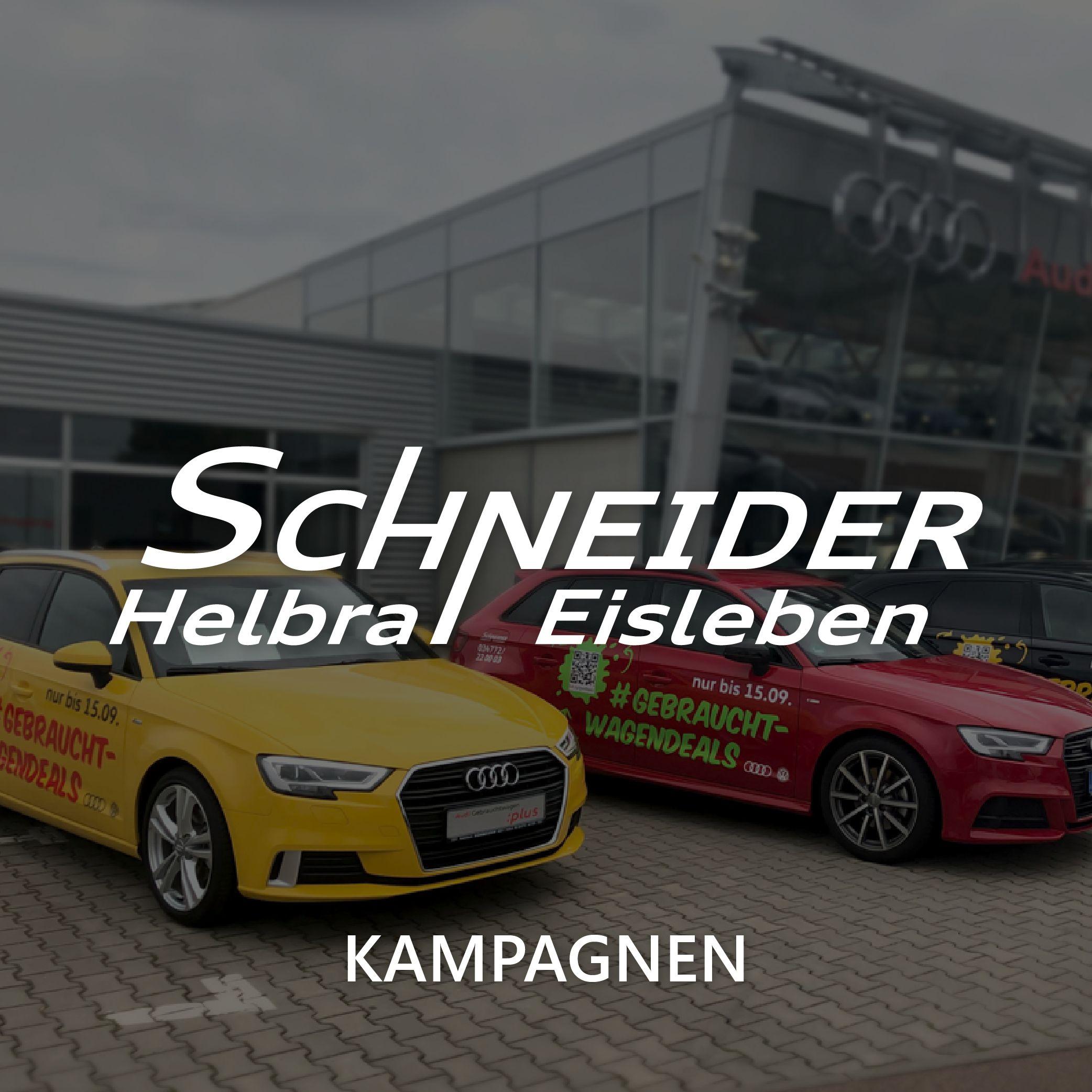 Autohaus Schneider Helbra Eisleben Kampagne